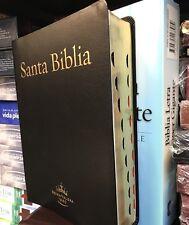 BIBLIA REINA 1960 LETRA SUPER GIGANTE 18 PUNTOS PIEL ELABORADA  CON INDICE