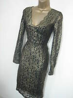 NEXT TALL Christmas Party Evening V Neck Bodycon Dress By NEXT 8 10 12 14 16