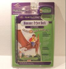 LeapFrog Quantum Pad Dinosaurs Before Dark Magic Tree House Book & Cartridge NEW