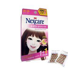 3M NEXCARE BLEMISH CLEAR COVER ACNE TREATMENT PIMPLE STICKER 38+38=76 PCS