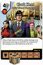 113 CLARK KENT: Daily Planet Photog. -Rare- WORLD'S FINEST Marvel Dice Masters