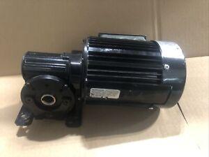 Bodine 42R6BFPP-5L/H Electric Gearmotor 3/8 HP 230/460 40:1 Ratio 43 RPM