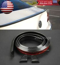 Roof Trunk Windshield Glossy Carbon Fiber Spoiler Wing Diffuser Lip For  Nissan