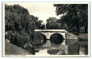 Postcard Cambridge Trinity Bridge