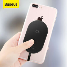 Baseus Universal Qi Wireless Charger Adapter Charging Pad Receiver For SAMSUNG
