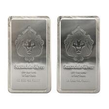 New Listing2 x 10 oz Scottsdale Stacker® Silver Bars - 20 Troy oz .999 Silver Bullion #A248