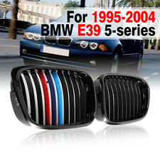 FOR BMW E39 5 Series 1997-2003 KIDNEY SPORT BUMPER HOOD GRILLE Grill M-color