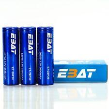 3X EBAT IMR 20700 3000MAH 40A 3.7V   Authentic Real High Drain Flat Top Battery