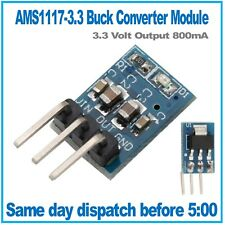 AMS1117 LDO DC 5V to 3.3V Step-Down Converter Regulator 800mA Vertical Module