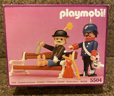 Playmobil Victorian figure féminine avec chapeau et sac V.G.C