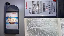 1 LT Olio Honda MTF 3 Cambio manuale Civic,Accord,CRv,S-2000,Jazz,Integra ORIGIN