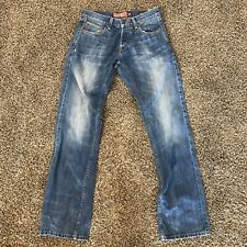 Lucky Brand Legend 221 Original Straight Selvedge Jeans Men's Size 29 Inseam 34""