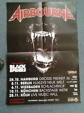 Airbourne    Original Concert/Promo Poster DIN A 1 = 84 x 60 cm