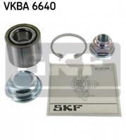 Radlagersatz für Radaufhängung Hinterachse SKF VKBA 6640