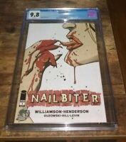 Nailbiter #1 CGC 9.8 Graded Phantom Variant Image Comics