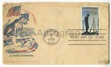 Civil War Centennial - 19th Century Postal Cover w/ Centennial Stamp
