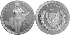 5 EURO CHYPRE 2015 - DEESSE APHRODITE