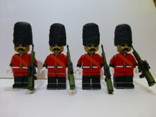 10 each British Army Buckingham Palace Guard Custom Mini Figures. Awesome Detail