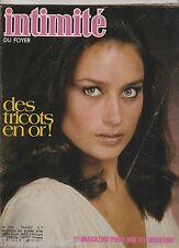 Revue Intimité N°1725 novembre 1978 roman-photo complet tricot