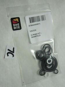 New O-Ring Kit Dive Rite Manifold VA2529  for 200 and 300 bar