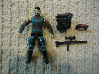 Vintage GI Joe Low Light (V3) 1991 Hasbro Action Figure w/Rifle Backpack Visor