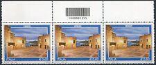"""Italia 2009 """"Turistica Verezzi"""" terzina con codice a barre Mnh"""