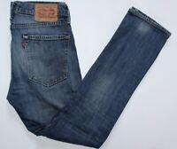 Levi's 510 Jeans - 31 W / 32 L - Skinny - Dark Blue Faded Denim Stretch - Mens
