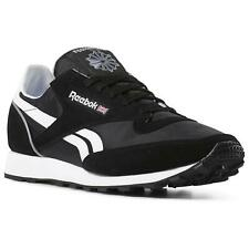 REEBOK CLASSIC 83 MU TRAINERS SHOES BLACK WHITE SUEDE RETRO VINTAGE CASUAL NEW