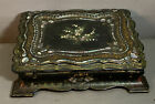 19thC+Antique+VICTORIAN+Era+MOTHER+of+PEARL+INLAY+Old+LADIES+Writing+LAP+DESK