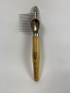 Vintage Rare Oster Petite Mat Comb with Box