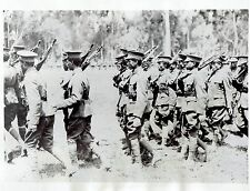 1935 Original Photo by HV DREES Imperial Guard of Ethiopian Army in Addis Ababa