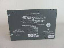 5 volt 5Vdc power supply 120 amp 120A 600 watts Lambda LFS-46-5 NEW