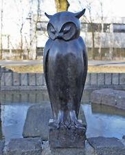 Bronzeskulptur einer Eule Im moderne Stil