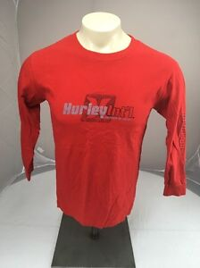 VTG Hurley Intl Freedom of Choice red Surf L/S shirt XL USA MADE 90s