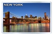NEW YORK BROOKLYN BRIDGE MOD4 FRIDGE MAGNET SOUVENIR IMAN NEVERA