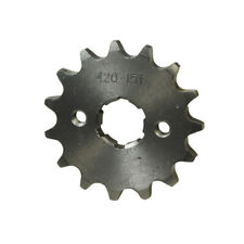 #420 Chain 15 Tooth Sprocket for 50-140cc Pit Dirt Bike & Atv with 20mm Shaft