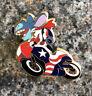 Disney - Americana Pin Trading Deluxe Starter Set - Stitch On Motorbike Pin