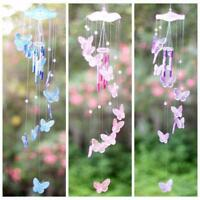New Dream Catcher Crystal Butterfly Wind Chime Bell Hanging Ornament Decorations
