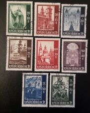 1948-AUSTRIA-Cattedrale di Salisburgo-serie completa usata