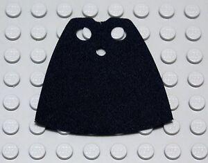 NEW LEGO - Body Wear - Cloth Cape Starched Fabric Black x1 - Star Wars / Castle