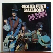 GRAND FUNK RAILROAD On Time - Capitol 3C062 80249 Italy original 1970