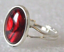 Genuine Rare Red Paua (Abalone) Shell Adjustable Ring Size M-P in Gift Box