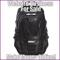 BACKPACKS Website Earn $65.49 A SALE|FREE Domain|FREE Hosting|FREE Traffic