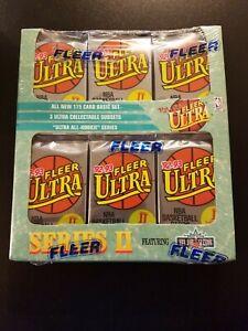 1992-93 Fleer Ultra Jumbo Factory Sealed Basketball Box Series 2