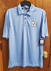 UNC Tar Heels Men's North Carolina Polo Shirt Champion athletics medium New tags