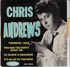 45 T EP CHRIS ANDREW *YESTERDAY MAN*