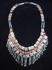Vintage Egyptian Revival Cleopatra Bellydance Necklace
