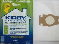 6 CLOTH Sentria Hepa Micron Magic Ultimate G Kirby Vacuum Bags 6PK