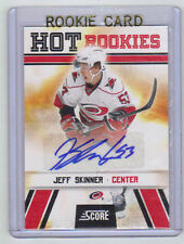 10-11 Score Signatures Jeff Skinner Auto Rookie Card RC #558 Mint Rare