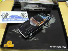 ISO Grifo 7 litri V8 black schwarz Presentbox.PMA Minichamps RAR 1:43